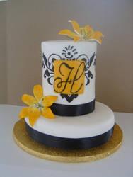 Bridal Shower cake by Cakerific
