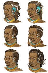 male naeka hairstyles by Veloxirunner