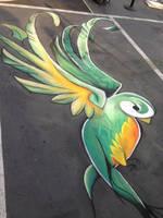 Quetzal Chalk by chelsaroo