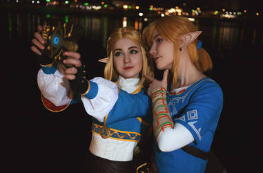 BOTW cosplay: Snap! by Odango-datte