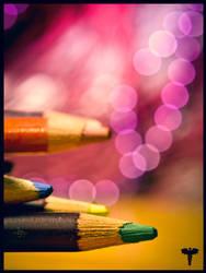 Happy Pencils by Fyrrea