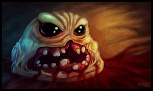 The Binding of Isaac: Monstro by Fyrrea