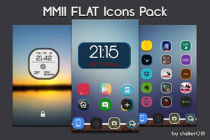 MMII FLAT Icon Pack by stalker018