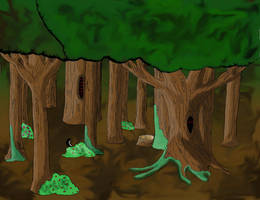 Forest Floor by Yus1f