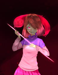 no need to hide =)  (GLITCHTALE) by CuteEmily44464