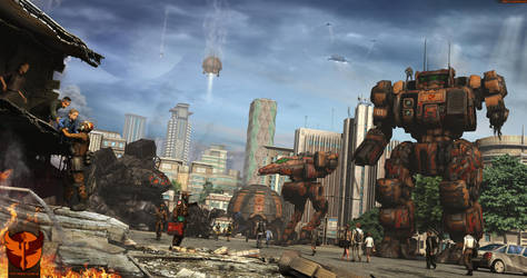 Phoenix Legion  -aftermath- by SpOoKy777