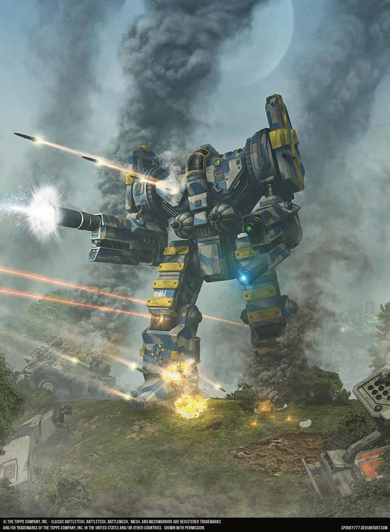 CGL Battletech novella cover, -The Anvil- by SpOoKy777