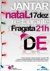 Cartaz Jantar Natal DE 2009 by faustinex