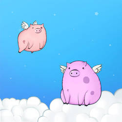 Pigs Can Fly by sixfragments