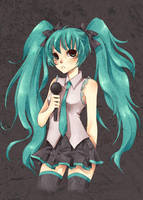 Miku karaoke by Horoholikka