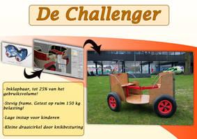 Challenger bolderkar by Hupie