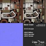 Dock Crane texture sheets by Hupie