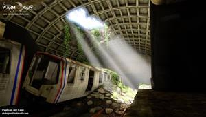 Metro station shot03 by Hupie