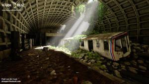 Metro station shot05 by Hupie