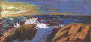 Ocean Cliffs by Hupie