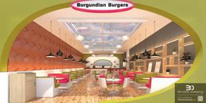 Burgundian Burger Window Dressing by Hupie