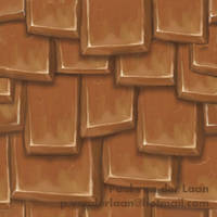 Roof Tile A Wm by Hupie