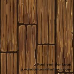 Wood Planks C by Hupie