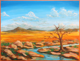 Landscape by Hupie