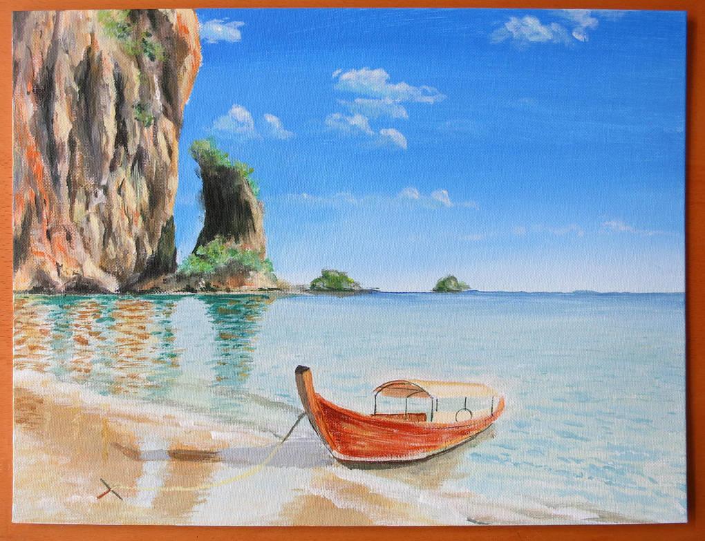 Exotic Beach by Hupie