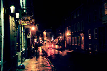 Street in Quebec by KBRRS