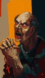 Mad monk by monartt