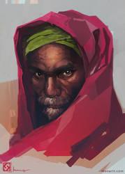Indian man by monartt