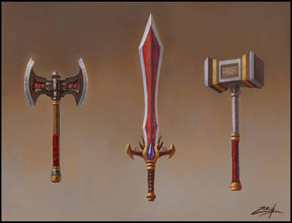 Weapon design by Zoriy