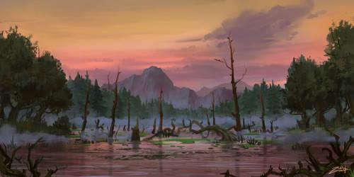 The lake. by Zoriy