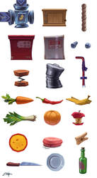 Game objects by Zoriy