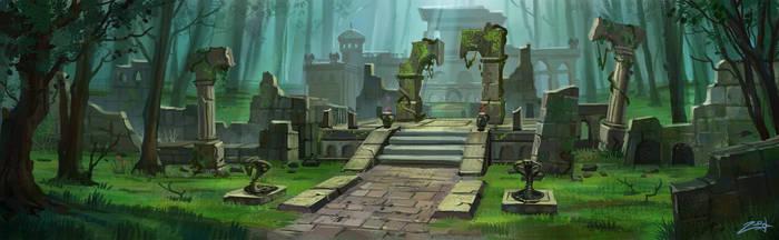 Ruins by Zoriy