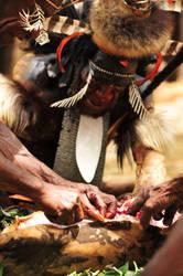 The Chief Eating by CenkDuzyol