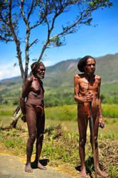 Baliem Valley Elders by CenkDuzyol