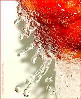A Bathing Peach by CenkDuzyol