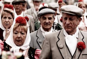 Happy Faces of Madrid I by CenkDuzyol