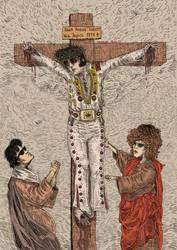 Elvis Fucking Christ! by FabioVermelho