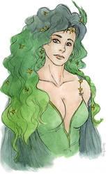 Rydia portrait by fashion-jerk
