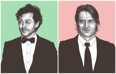 Hugh and Mads by fashion-jerk