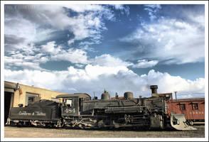 Antonito Station by NitzkaPhotography