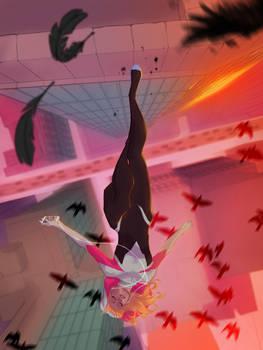 Spider Gwen by UltimateTattts