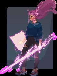 Psylocke by UltimateTattts