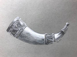 Horn of Gondor by BrightsWanderings