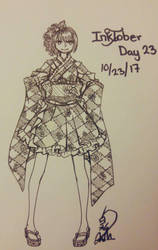 what I did for Inktober Day 23 by Silene-Nocturna