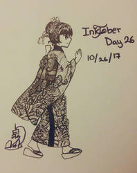 what I did for Inktober Day 26 by Silene-Nocturna
