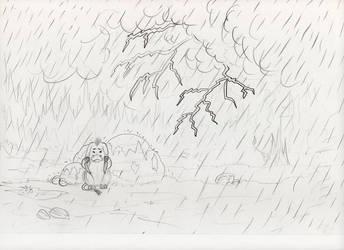 Scary lightning by Sukeile