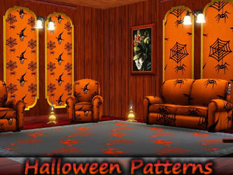 TS3-Halloween Patterns by allison731