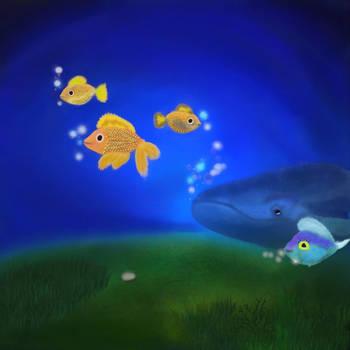 Undersea Life by allison731