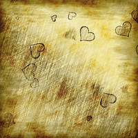 Old Paper with Hearts by allison731
