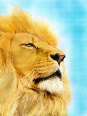 Lion Portrait II by allison731