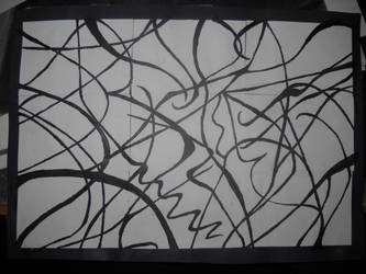 Drawing 1: First Project (line experiment) by BFan1138